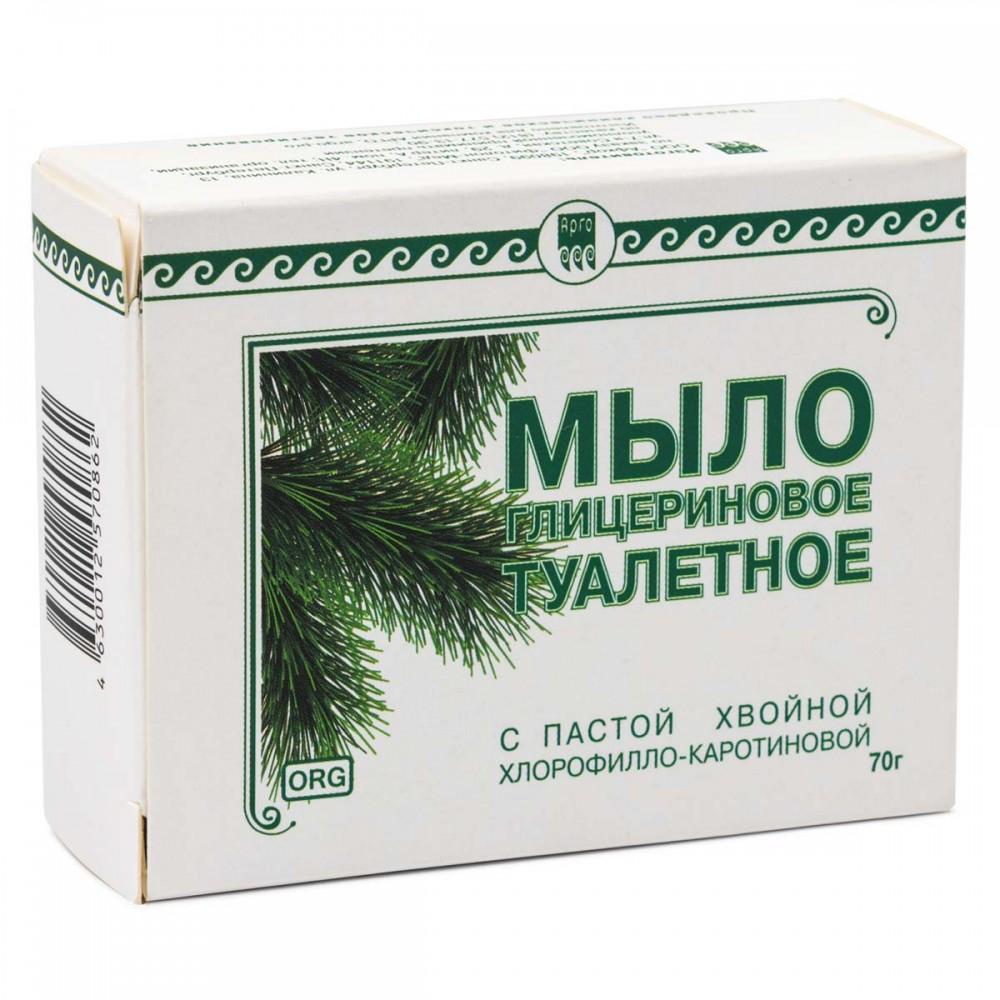 Мыло туалетное глицериновое Фитолон от ФитоЛайн