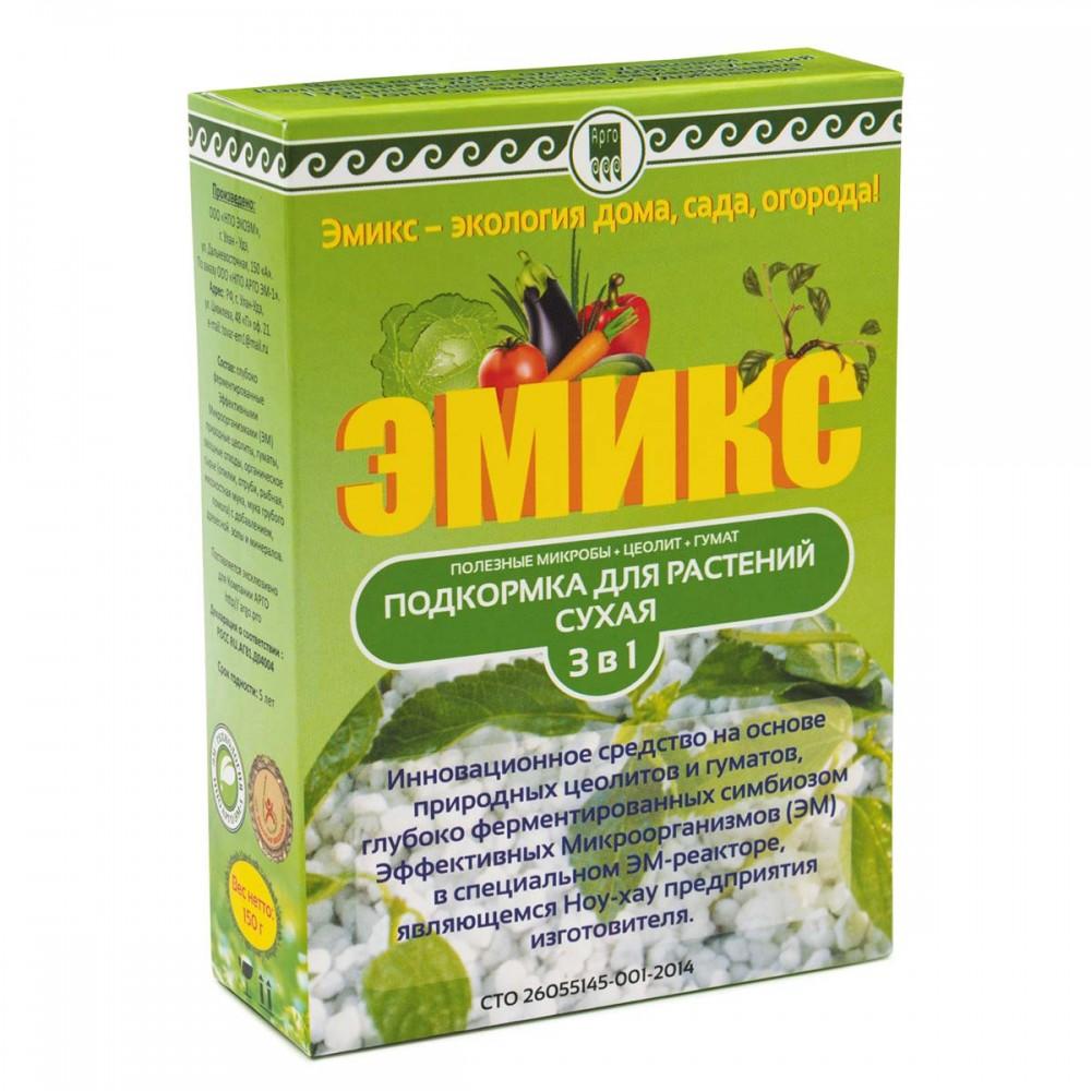 Подкормка для растений сухая Эмикс от Арго ЭМ-1