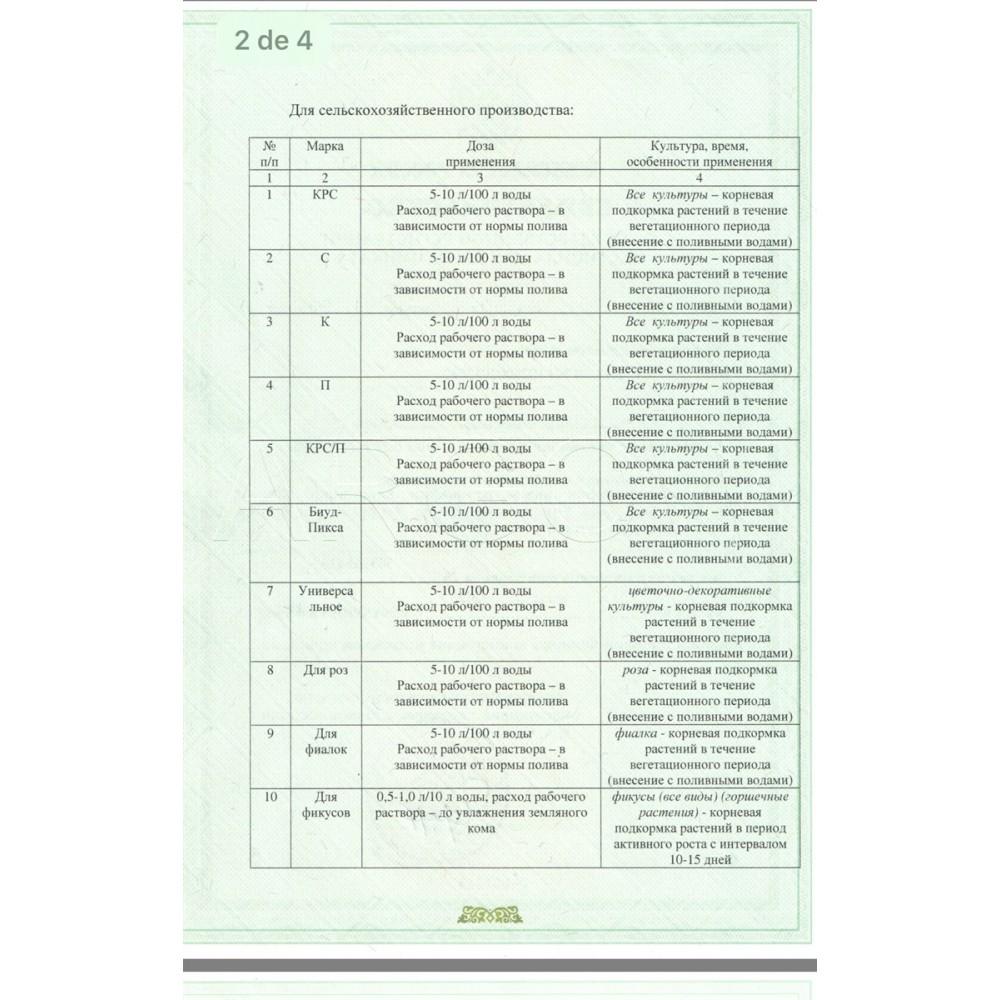Удобрение органическое для комплексной подкормки растений Слокс-эко от Алтом-Консульт